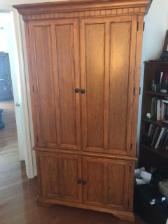 Entertainment/Clthing Armoire