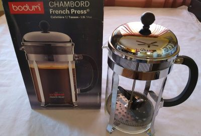 Bodum Chambord 12 Cup French Press (NEW)