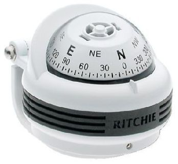 Sell Ritchie Navigation TR31W TREK BRKT WHT MT. COMPASS motorcycle in Stuart, Florida, United States, for US $60.44