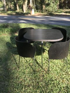 IKEA Table and four chairs!