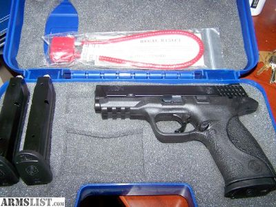 For Sale/Trade: SMITH WESSON 9MM FULL SIZE MIB 3 MAGS