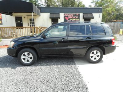 2002 Toyota Highlander Base (BLACK)