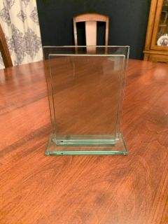 Glass 4x6 picture frame (heavy)