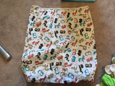 Large Wet bag (cloth diapering)