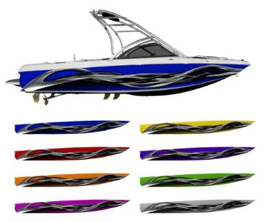 Purchase Twist Boat Wrap - Customized for your boat - Choose Your Color motorcycle in Naples, Florida, United States, for US $595.00