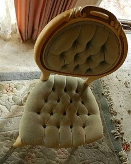 VICTORIAN PARLOR CHAIR - MKSALE