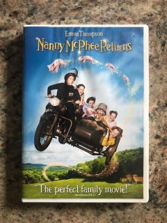 Nanny McPhee Returns DVD $4 PPU Thompson s Station