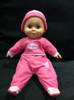 Bambolina Baby Soft Doll sounds and cry