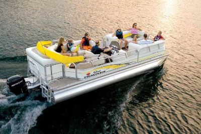 2008 Sun Tracker Party Barge 22 TRIPLE LOG W/ MERCURY 115 4S & TRAILER Pontoons Boats West Plains, MO