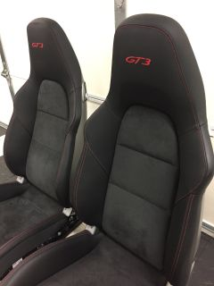 FS: 991 GT3 18 - Way Sofa Seats with RED stitching
