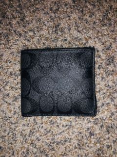 New Men s coach wallet