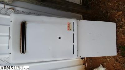 For Sale/Trade: Rinnai Tank less Hot Water Heater