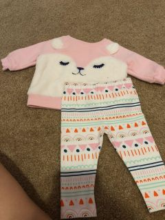 Baby Cat & Jack Outfit 0-3 Month