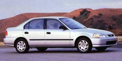 1997 Honda Civic DX (Blue)