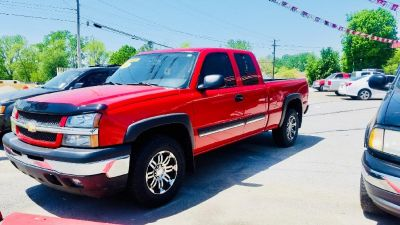 2005 Chevrolet Silverado 1500 Work Truck (RED)
