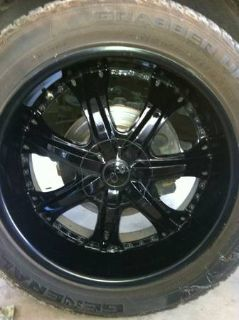 22 Suvtruck rims and set of 4 like new general tires for chevygmc