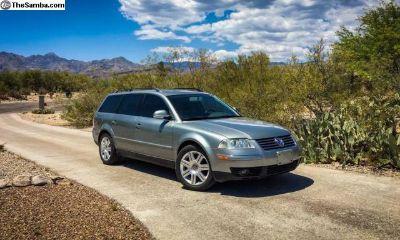 2005.5 Passat TDI Wagon for Trade Rust Free AZ Car
