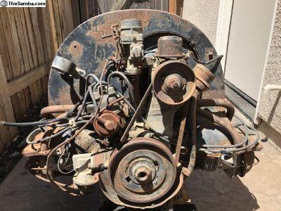 36hp VW Bug Motor turns freely