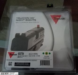 For Sale: Trijicon Glock 42/43 Night Sights
