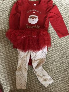 Christmas outfit size 18-24 months
