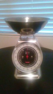 Vintage Stainless Steel 8 pound scale