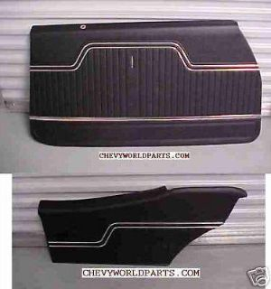 Find 1970 1971 1972 CHEVELLE DOOR PANEL KIT 70 71 72 motorcycle in Bryant, Alabama, US, for US $289.95