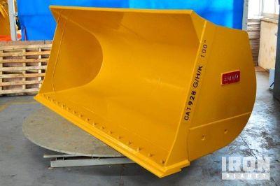 "Emaq 103"" HD Wheel Loader Bucket - Fits Cat 928G/H- Unused"