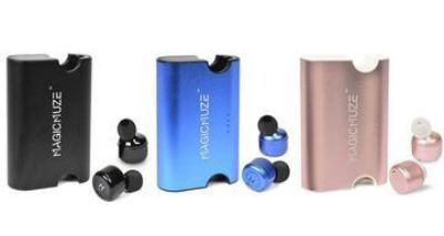 Magicmuze Elite truly wireless earbuds with power bank charging case