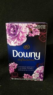 Downy infusions fabric sheets 90 count