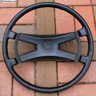 Factory Leather Wheel and Butterfly Horn 380mm