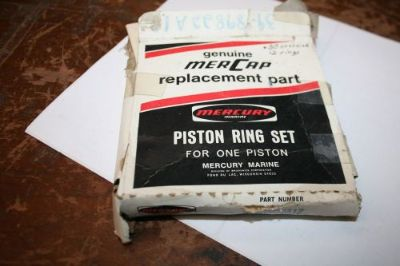 Sell 12 NEW MERCURY PISTON RINGS 39-3989822 .30 OVERSIZE 40 & 50 HP motorcycle in Scottsville, Kentucky, United States, for US $29.99