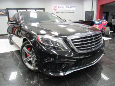 2015 Mercedes-Benz S-Class S63 AMG (Magnetite Black Metallic)