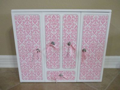 "Our Generation 18"" Doll Wardrobe Clothes Closet"