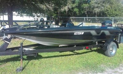 1994 Tracker Nitro 16' Bass Boat, Mercury 60hp & Trailer