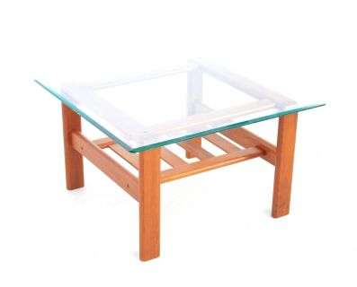 Mid Century End/coffee Table By S.burchardt Neilse
