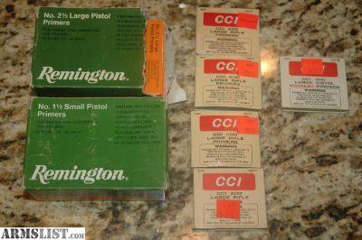For Sale: 2000+ Primers (Rifle & Pistol)