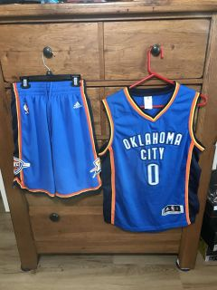 Russell Westbrook Jersey and matching Shorts