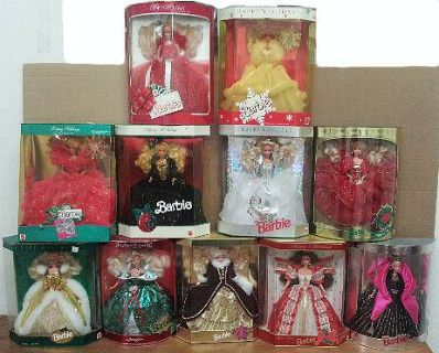 Christmas BARBIE Collection FOR SALE