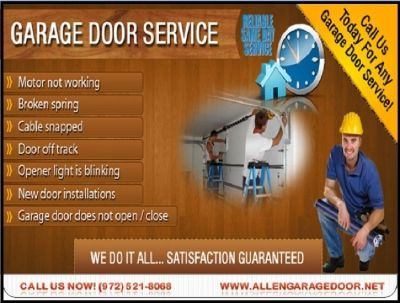Professional Garage Door Repair, New Installation $25.95 | McKinney, Dallas 75069 TX