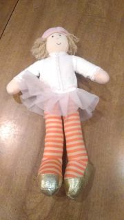 Plush ballerina doll. Great condition. 11 inches tall.