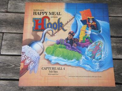 Hook - McDonald's Happy Meal Toy Display Sign