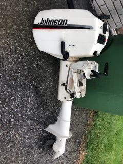 Johnson 4 horse power / 2 stroke boat engine