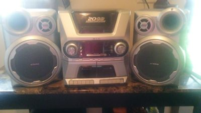 3-piece Home Stereo System by Audiovox