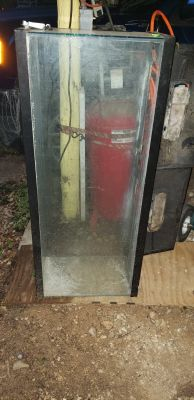 55 gallon tank with lid