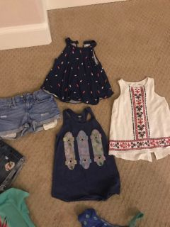 Old Navy clothes (girls 8 &10)