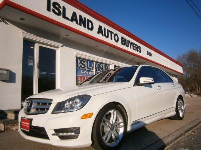 2012 Mercedes-Benz C-Class C300 4MATIC Luxury (White)