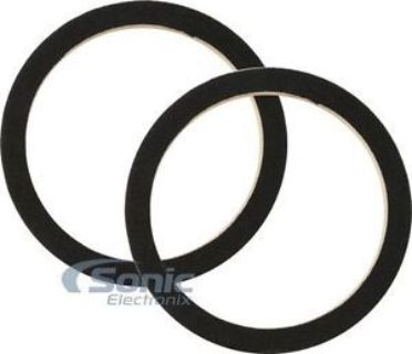 "Purchase NEW! Audiopipe RING-06CBK Universal 6"" Speaker MDF Rings w/ Black Carpet Cover motorcycle in Louisville, Kentucky, United States, for US $7.99"
