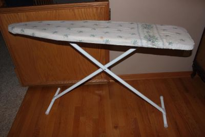 Full Sized Vintage Adjustable and Collapsible Ironing Board