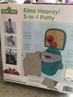Elmo potty chair 3 n 1