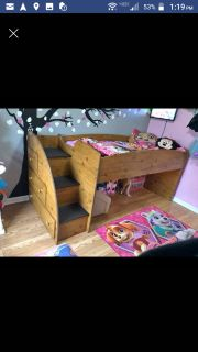 Iso a twin loft bed or twin with drawers underneath